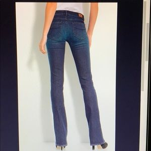 Paige Laguna Boot Cut Jeans size 26 dark wash